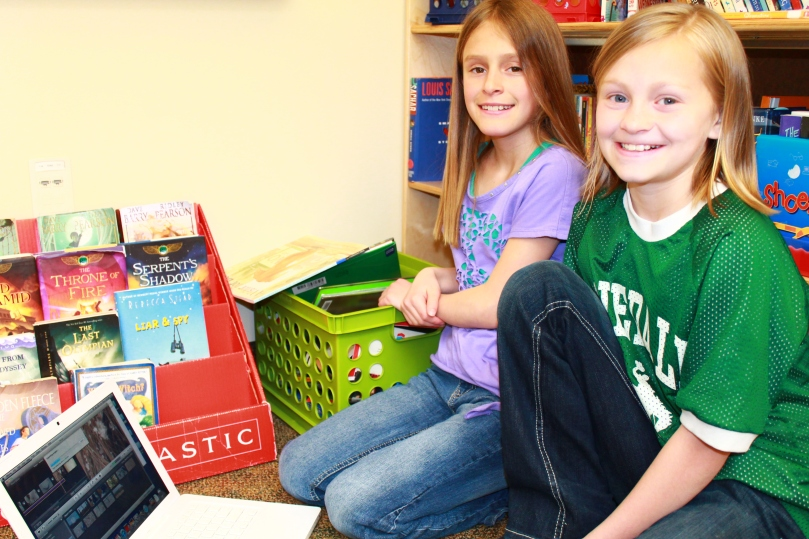 Pinedale students teamed up to help one another!